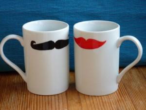 """Tassenset, """"Kiss me, Moustache"""""""