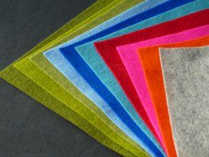 Nähset für Handytasche aus Kork, verschiedene Farben Filz